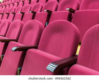 Armchairs in the cinema