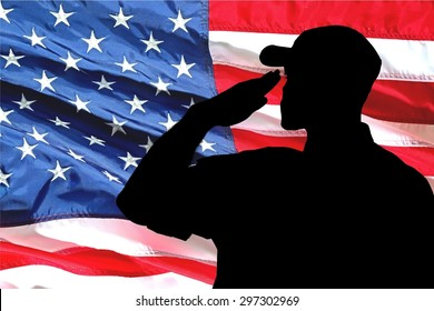 Armed Forces, Saluting, Marines.