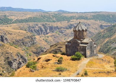 Armenia, Church of the 11th century near the fortress Amberd