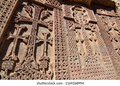 Armenia, Geghard monastery near Yerevan  is a medieval monastery in the Kotayk province of Armenia, being partially carved out of the adjacent mountain