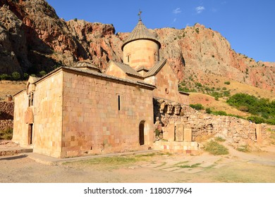 Armenia, Noravank monastery near Areni village. Armenian monastery from the 13th century, put in the ravine of the river of Arpa, in the Wajoc Dzor province in Armenia
