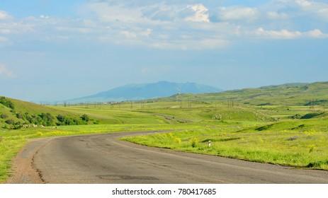 Armenia riding road - Shutterstock ID 780417685