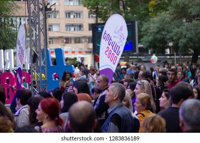 Armenia, Yerevan, October 21, 2018, Aniversery selebrities 2800- Erebuni Yerevan