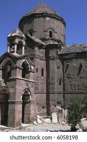 Armenian Akdamar Kilesi in Eastern Anatolia Turkey