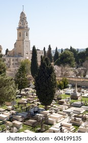 Armenian cemetery by St. James Cathedral Church in Jerusalem, Israel