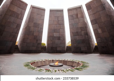 Armenian Genocide memorial, the Armenia's official memorial dedicated to the victims of the Armenian Genocide