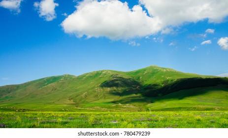 Armenian plateau grassland scenery