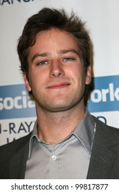 Armie Hammer  at  'The Social Network' Blu-Ray and DVD Launch, Spago, Beverly Hills, CA. 01-06-11