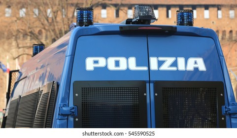 Police Car Italy Images, Stock Photos & Vectors | Shutterstock