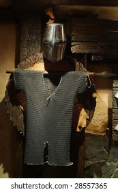 Armour of the ancient knight full-scale