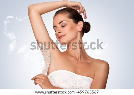 Armpit Epilation Hair Removal Young Woman Stock Photo Edit Now