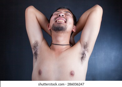Armpit hair, beard
