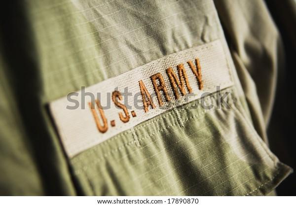 Army clothing