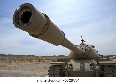 Army desert tank