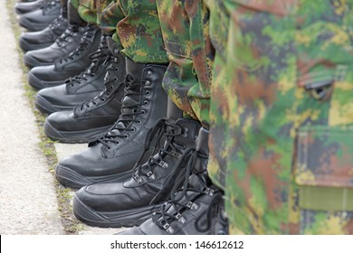 Army - Military Boots