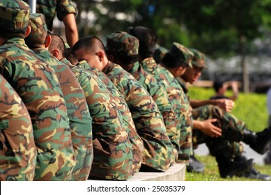 army personnel