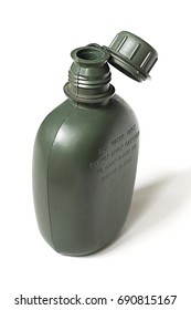 Army plastic canteen