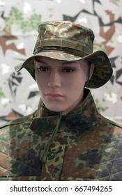 Army and police combat camouflage uniform