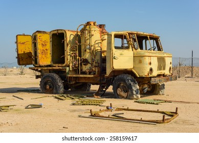Army Truck on Failaka