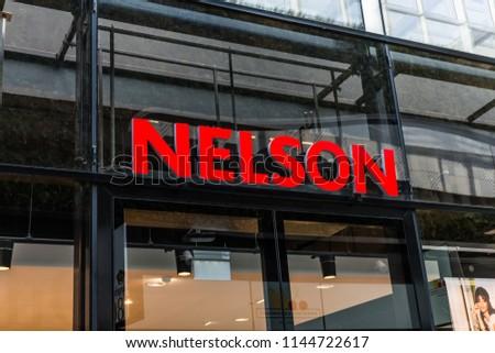 Arnhem Netherlands 15042018 Nelson Shoes Fast Stock Photo (Edit Now ... 67affd9c6