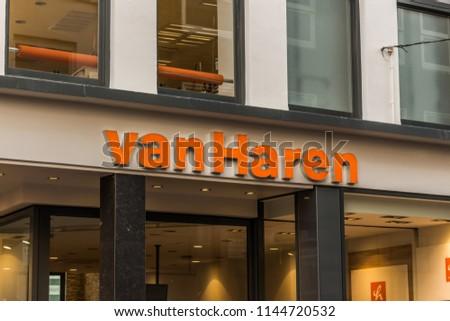 Arnhem Netherlands 15042018 Van Haren Shoes Stock Photo (Edit Now ... ae1243d61