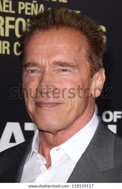 "Arnold Schwarzenegger at the ""End of Watch"" Los Angeles Premiere, Regal Cinemas, Los Angeles, CA 09-17-12"