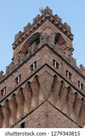 Arnolfo Tower nicknamed by the Florentines as Torre della Vacca , Florence, italy