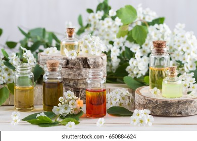 Aroma oil for aromatherapy and flowers
