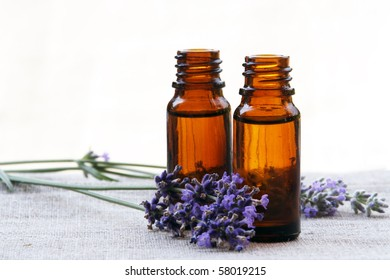 Aromatherapy Aroma Scented Oil in Glass Bottles with Lavender
