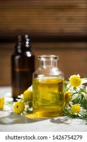 Aromatherapy by camomile oils alternative medicine