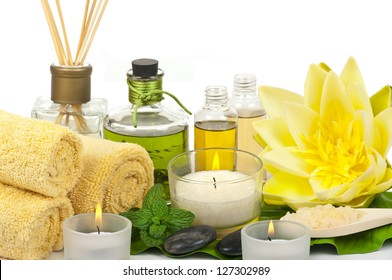 Aromatherapy in a spa