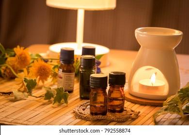 aromatherapy treatment at beauty salon