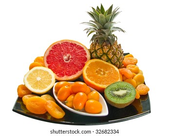 The Aromatic fresh fruits - a vitamins for your health.