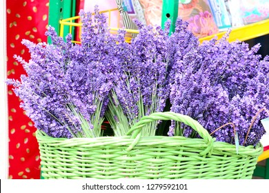 Aromatic lavender bunches for sale at Sequim Lavender festival, Washington State
