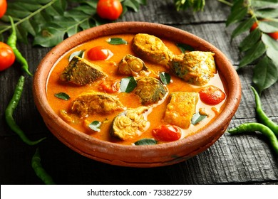 aromatic seafood curry from Indian cuisine.