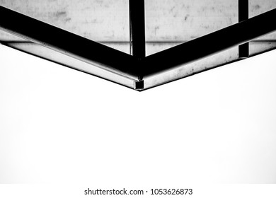 Arquitecture in black and withe