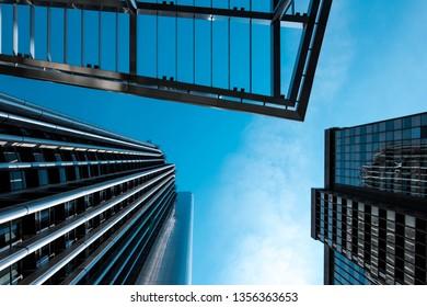 Arquitecture sky building