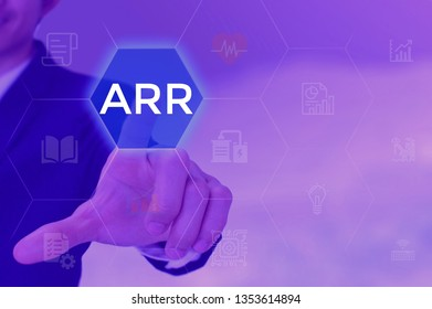 ARR - business and techonology concept