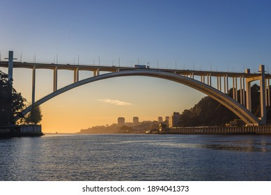 Arrabida Bridge between Vila Nova de Gaia and Porto cities in Portugal - Shutterstock ID 1894041373