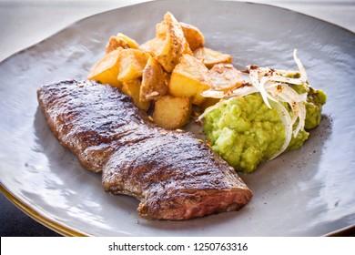 Arrachera Tampiquena dish