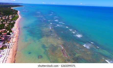 Arraial d'Ajuda, Bahia: Beautiful beach in Brazil