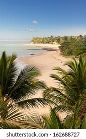 Arraial d'Ajuda beach in Bahia - Brazil.