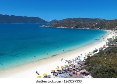 Arraial do Cabo, Rio de Janeiro: Beautiful beach in Brazil. Fantastic landscape. Great beach scene