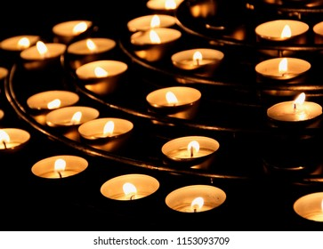 Array of Church Candles