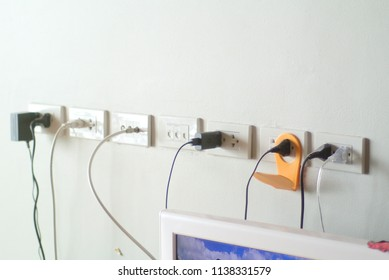 array of electrical outlet