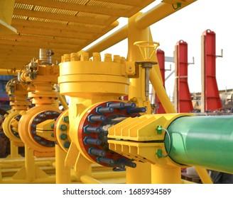 Array subsea valves new skid