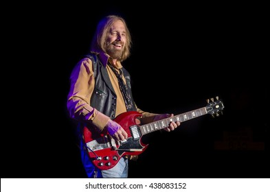 Arrington, VA/USA - 9/6/2014 : Tom Petty & The Heartbreakers perform at LOCKN' Festival in Arrington, VA.