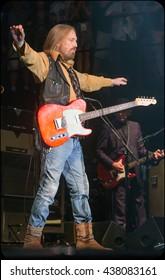 Arrington, VA/USA - 9/6/2014 : Tom Petty & The Heartbreakers perform at LOCKN' Festival in Arrington, VA.