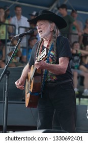 Arrington, VA/USA - 9/7/2014 : Willie Nelson performs at LOCKN' Festival. He's a Grammy Award winner and was inducted into the Country Music Hall of Fame in 1993.