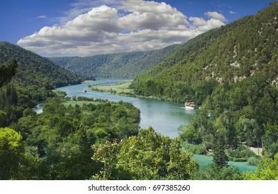 Arrival at National Park Krka Croatia